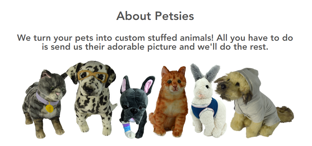 a8105b3cd2d2 Petsies Creates Custom Stuffed Animal Versions of Your Pet ...