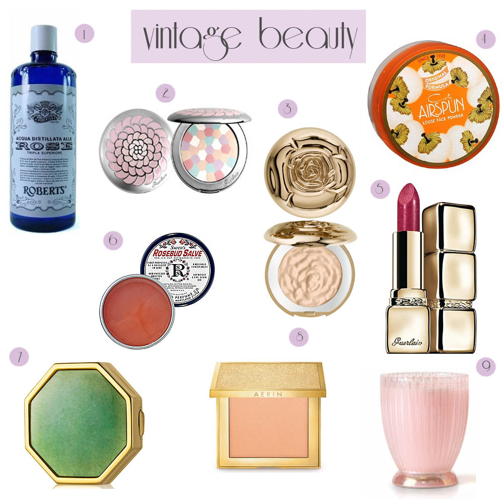 Heart of Gold: Vintage Inspired Beauty