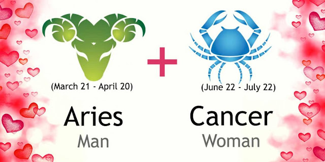 Compatible zodiac signs for cancer woman