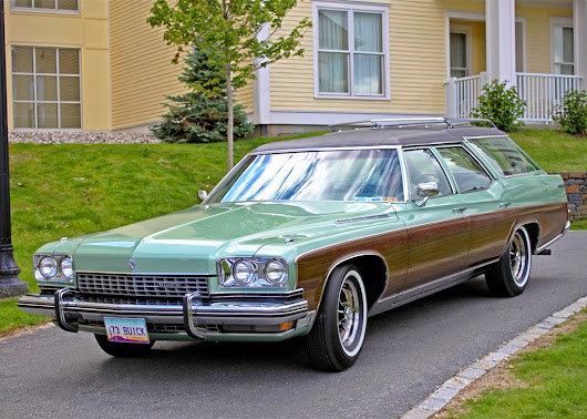 Paradise Lost: the 1972 Buick Estate Wagon