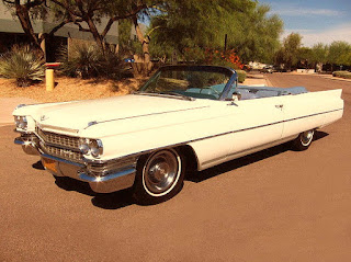 1963 Cadillac DeVille Convertible Front Left