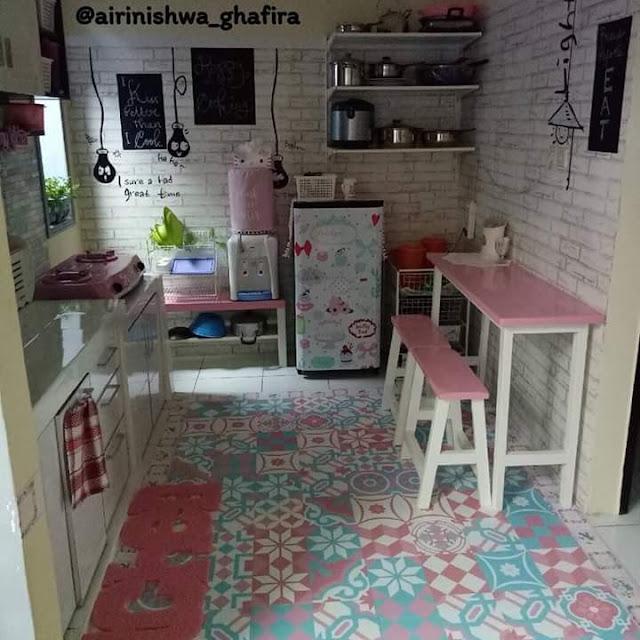 Inspirasi Rumah Minimalis Tipe 50 Ruang Santai Dapur