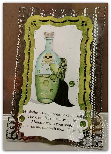 Created In the Crafting Cave with Lisa Absinthe Fairy Dracula