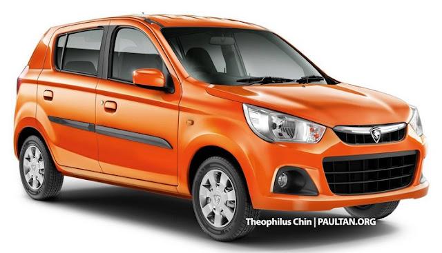 Model Kereta Baru Proton Suzuki 2016