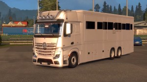 Mercedes Benz MP4 Actros Motorhome