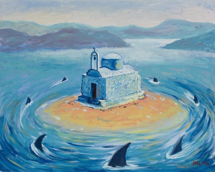 Австралийский художник. Mathew Halpin