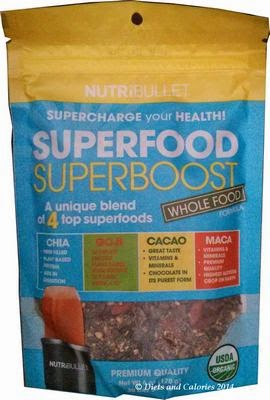 Nutribullet  Superfood mix goji, chia, cacao, maca