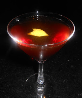 fourth regiment cocktail whiskey vermouth