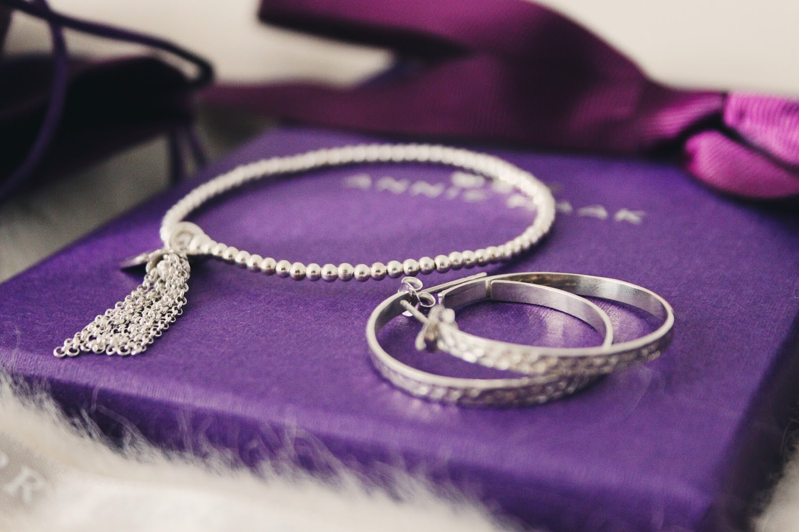 annie haak tassel bracelet