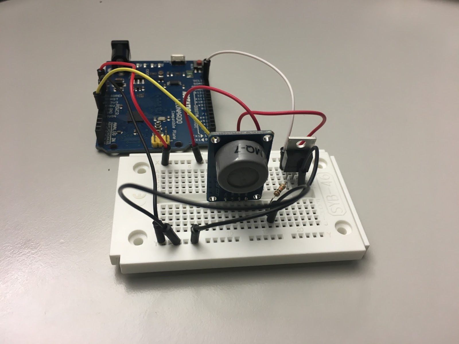 Areresearch Andy Reischle Detect Co With A Mq 7 Sensor Module Mq7 Circuit Diagram Setup Mosfet