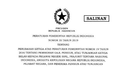 Gaji Ketiga belas 2019