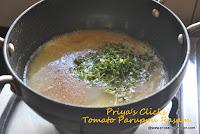 Tomato-Paruppu rasam