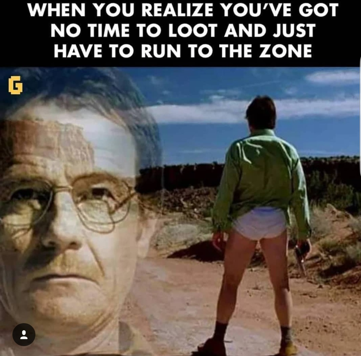 I dont know if the rest of the world will understand this pubg meme but a breaking bad fan could definitely die of laughing after watching this meme