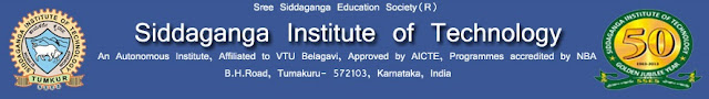Siddaganga Institute of Technology (SIT) Results 2017