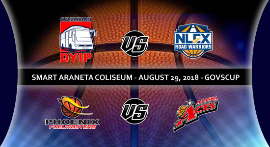 List of PBA Game(s): August 29 at Smart Araneta Coliseum 2018 PBA Governors' Cup