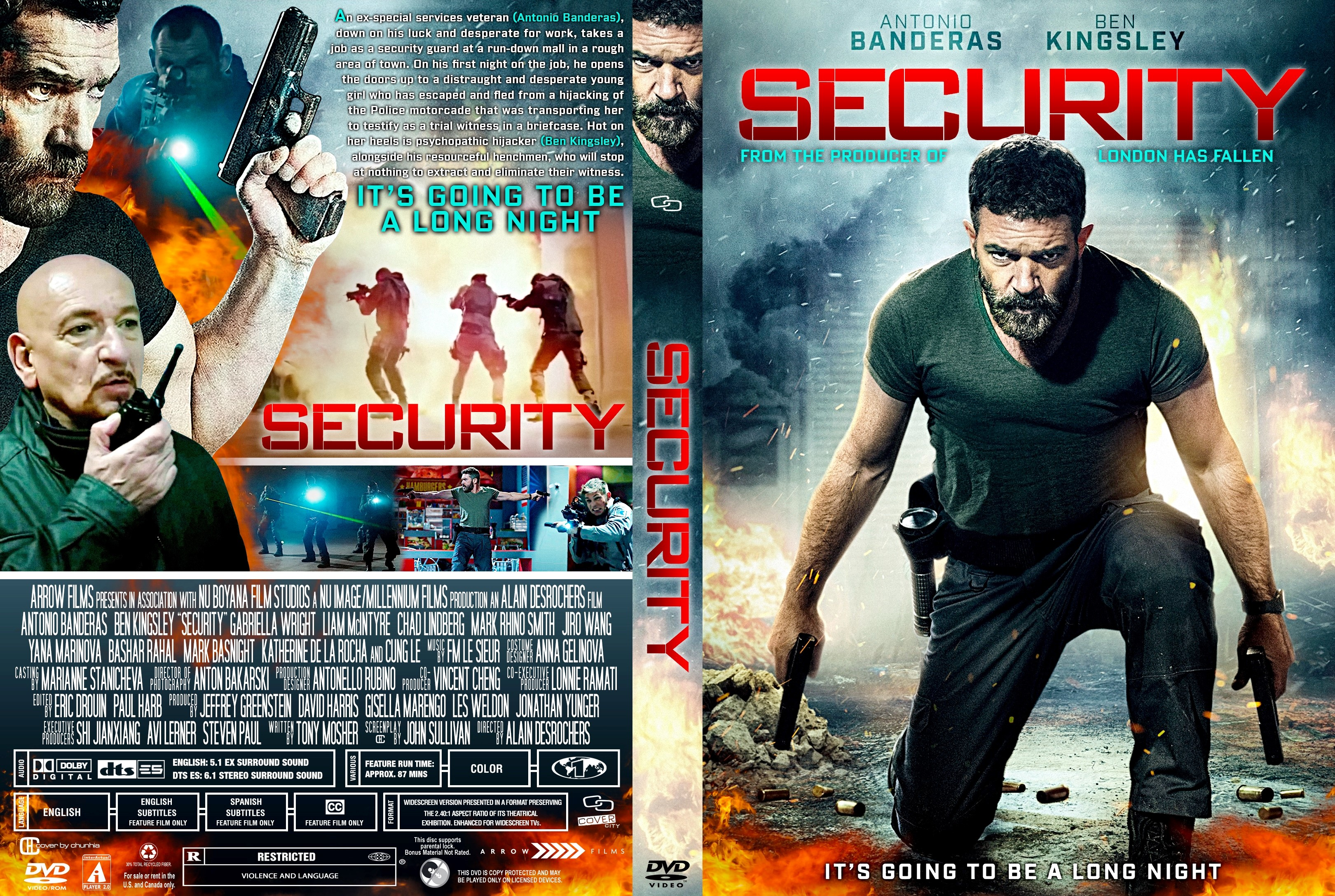 security dvd cover cover addict dvd bluray covers and movie posters