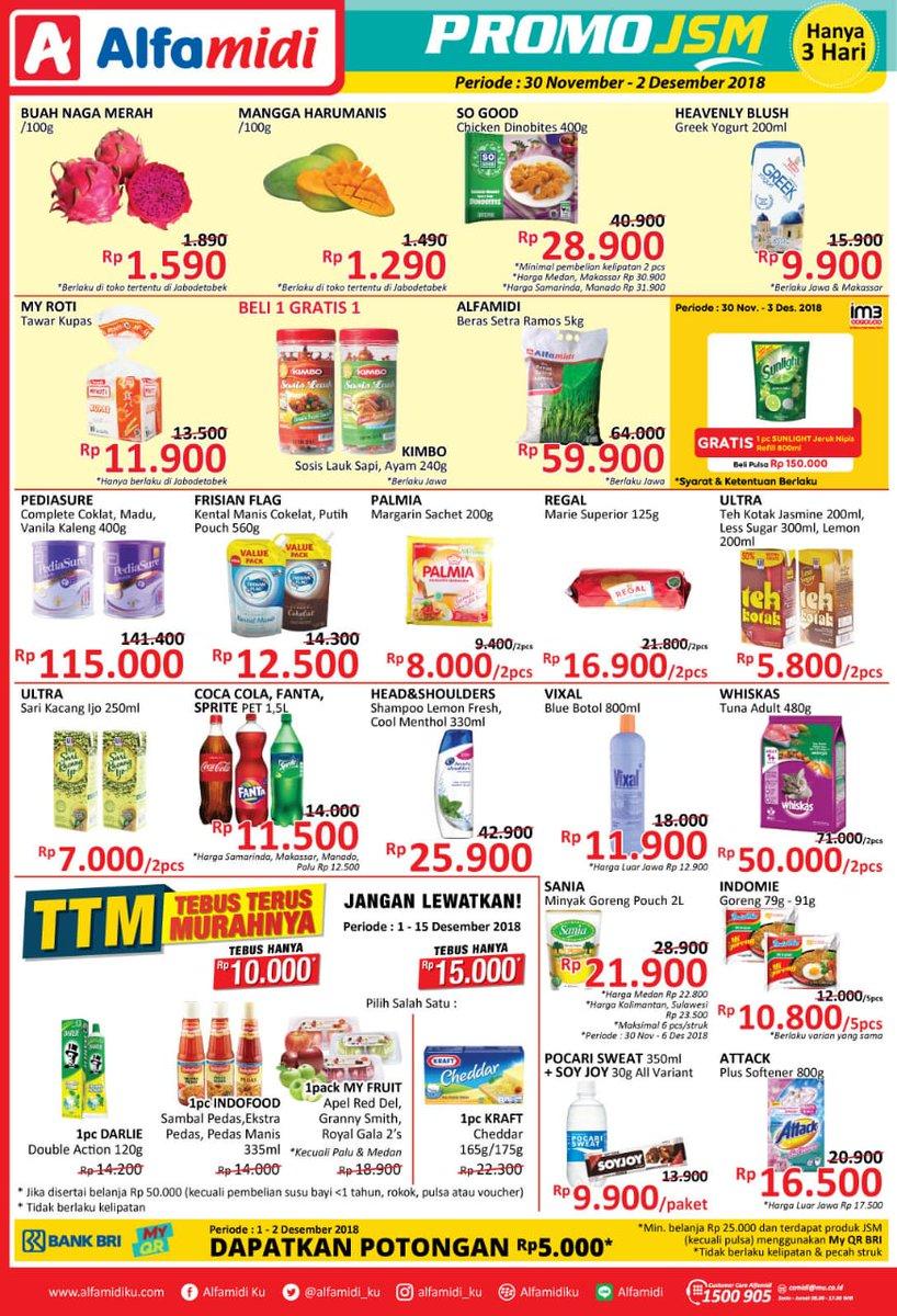 Alfamidi - Promo Katalog JSM Periode 23 - 25 November 2018