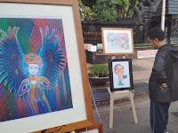 Di Semarang, Haul Gusdur diperingati dengan pameran kartun