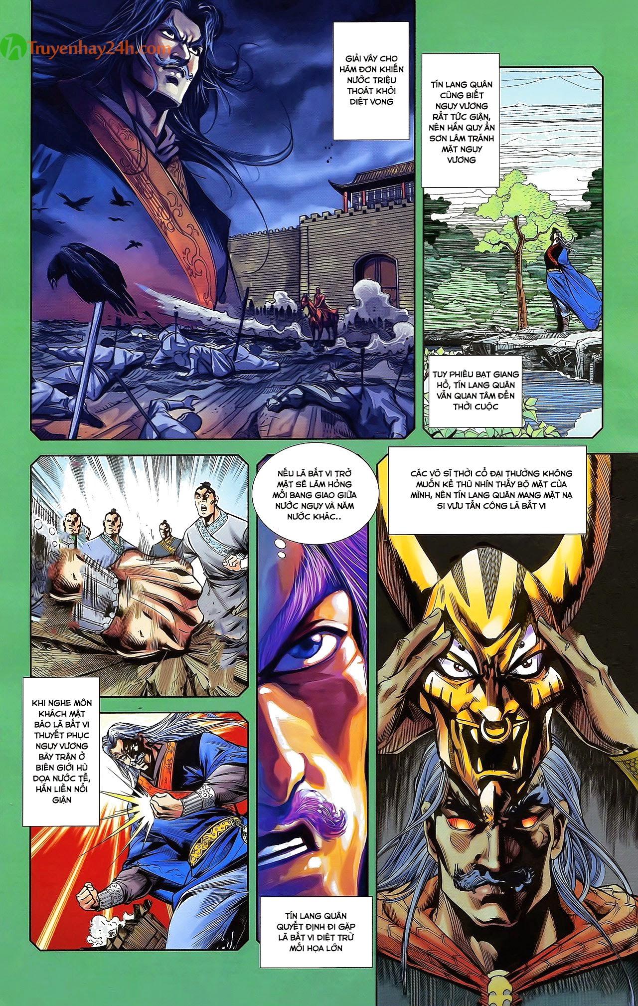 Tần Vương Doanh Chính chapter 31 trang 18