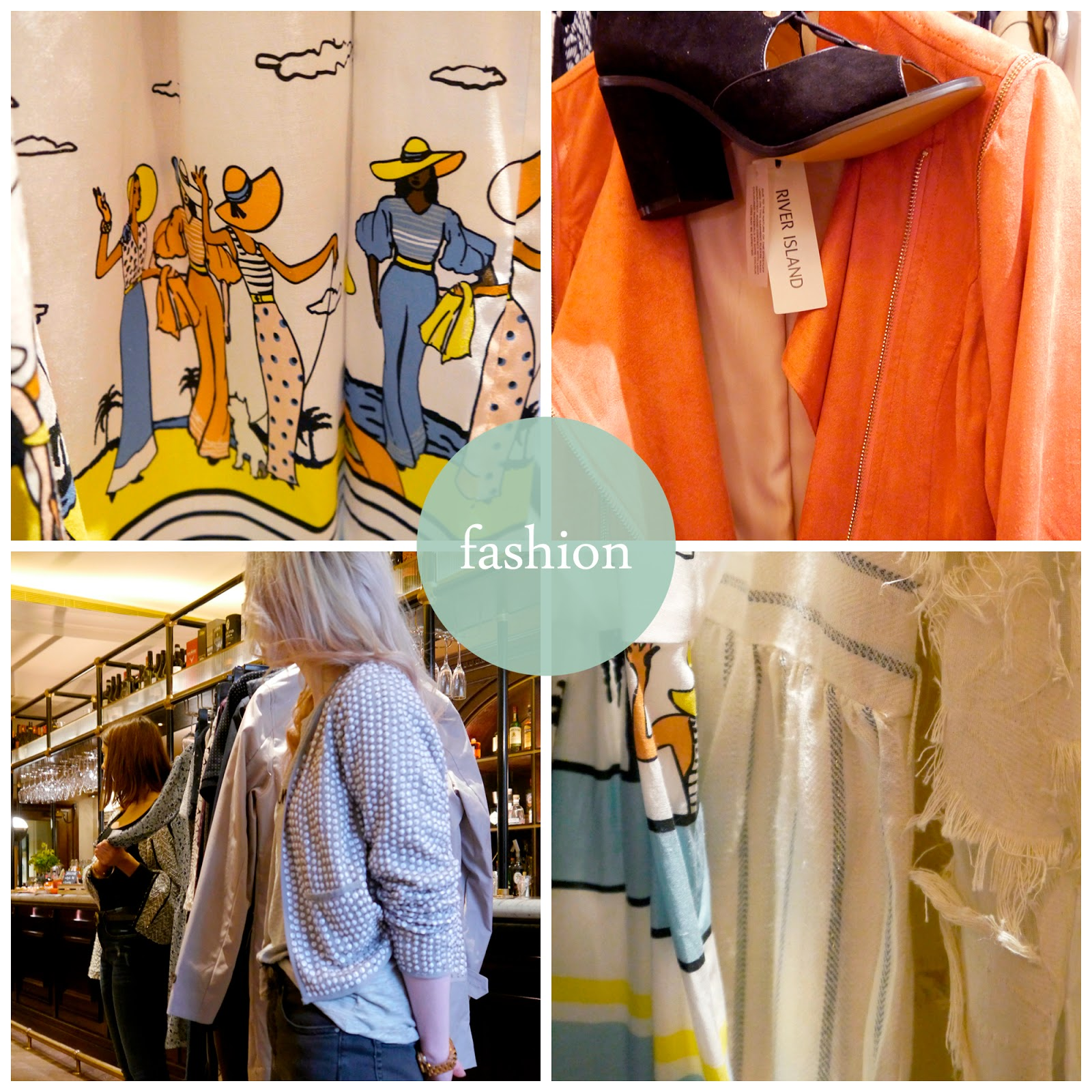 The Printing Press, Blogger Brunch, Edinburgh Fashion Week, brunch, River Island, Biscuit, Debenhams