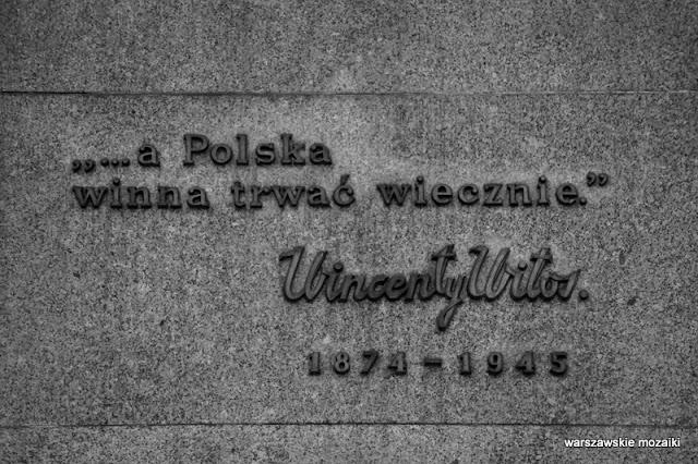 Warszawa Warsaw Śródmieście pomnik plac Trzech Krzyży Marian Konieczny