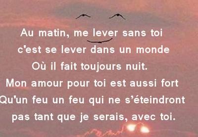 Sms D Amour Du Matin Messages Et Sms D Amour
