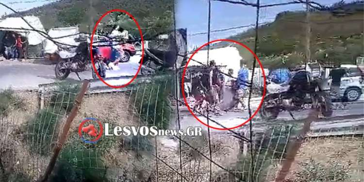 Άγριο ξύλο στο hotspot στην Μόρια με έξι τραυματίες [βίντεο]