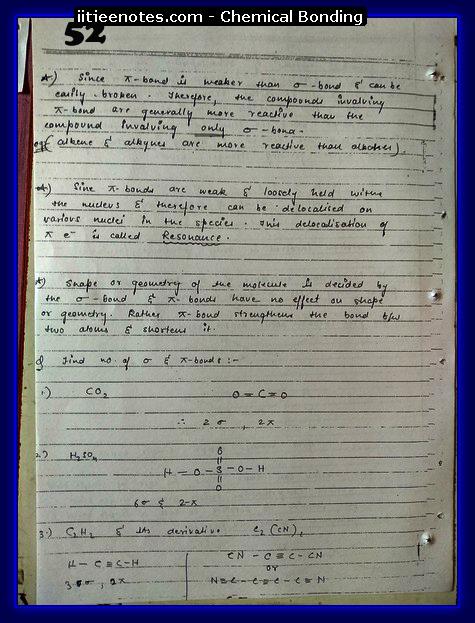 Chemical-Bonding Notes cbse4