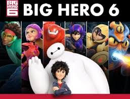 Big Hero 6 Hollywood  Animated