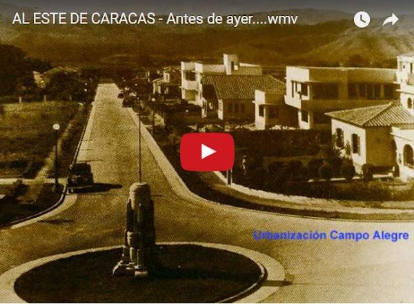 Caracas cumple 450 años - 433 de riqueza y el resto ya sabemos