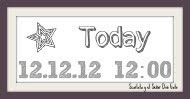 Today 12/12/12