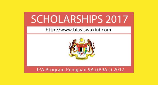 JPA Program-Penajaan 9A+ (P9A+) 2017