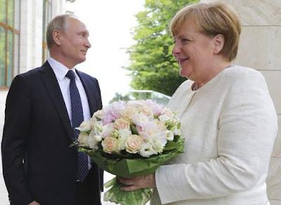Німецькі ЗМІ вважають, що Путін образив Меркель