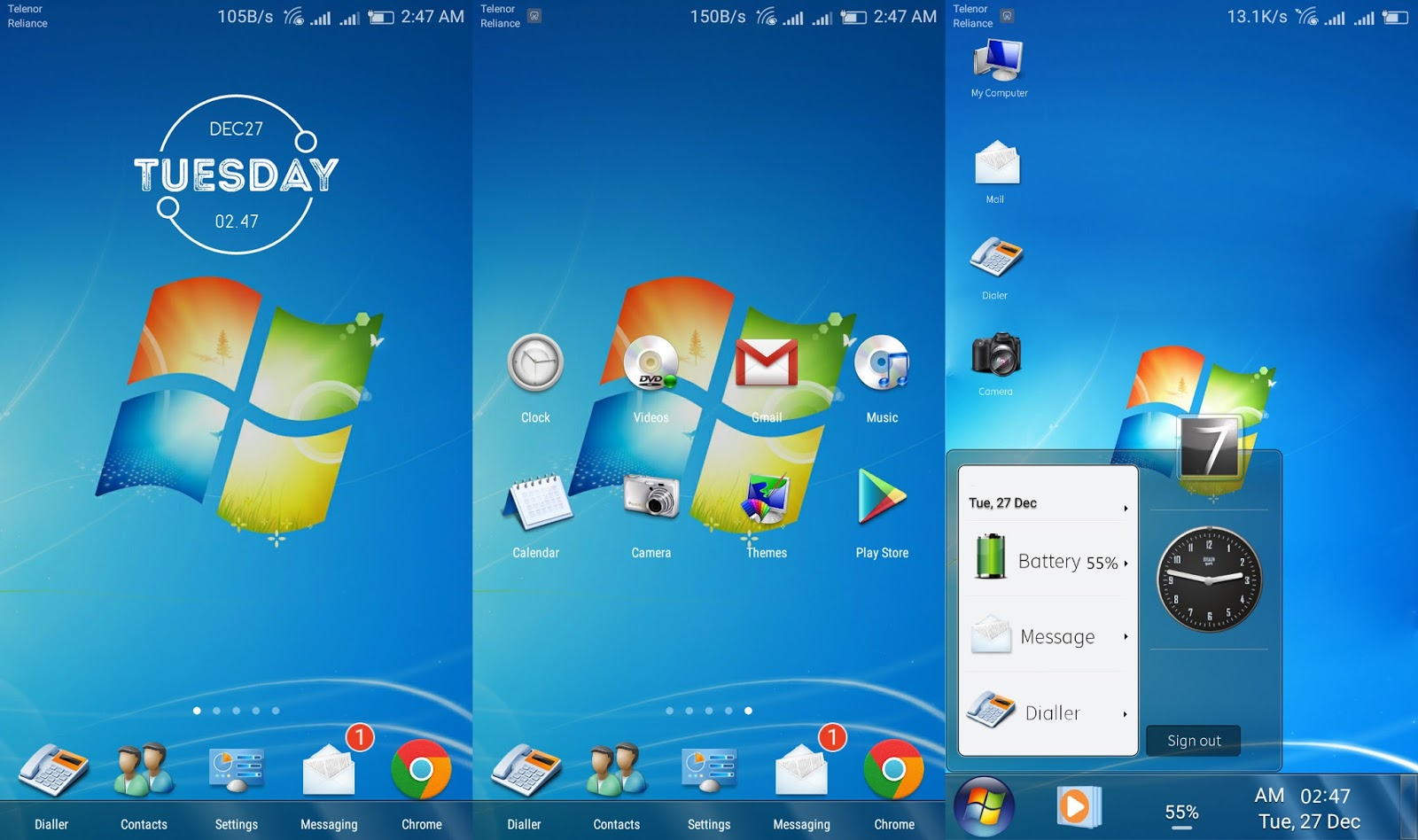 windows 7theme