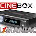 Cinebox Legend HD Duo Nova Atualização SKS 22W - 08/09/2016
