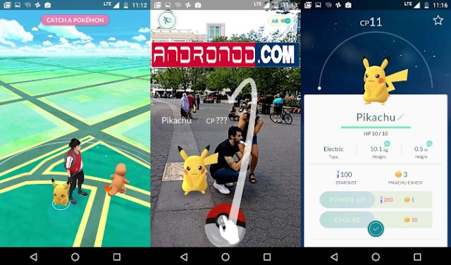 Tips Mendapatkan Karakter Pikachu Di Pokemon Go