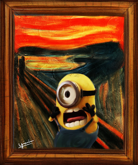The Scream Minion by ying-min on DeviantArt