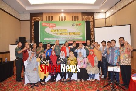 Korem 141/Tp Kerjasama Unhas Makassar, Gelar Sosialisasi Model Bisnis dan Teaching Industry