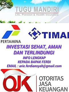 #Investasi Online | #Asuransi Online  konsultasi lengkap  kepada Bapak Ferdi  #email: arie.ferdiansyah@gmail.com  http://investasiasuransionline.blogspot.co.id/  https://sites.google.com/site/investasiasuransionline/    investasi online | konsultasi online | asuransi online| asuransi jiwa| asuransi kesehatan|asuransi pendidikan| asuransi tenaga kerja| insurance| investasi asuransi| tugu mandiri| asuransi jiwa tugu mandiri| tugu mandiri malang, asuransi jiwa tugu mandiri malang|investasi anak perusahaan Pertamina| Investasi aman| Asuransi Jiwa| Subsidi Biaya Kesehatan | Dana Simpanan Pesangon Tenaga kerja| Tabungan Pendidikan| Tabungan Pensiun|Tabungan Hari tua|