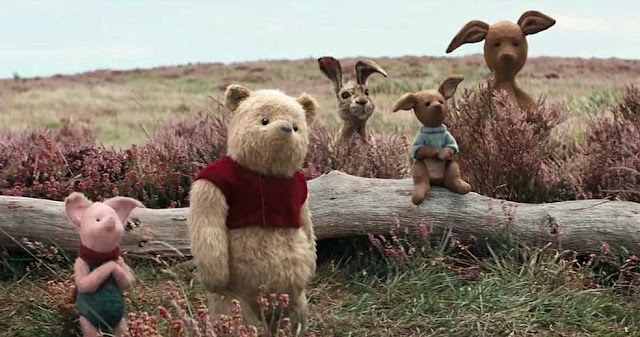 Pooh & Friends Reunite in Disney's Christopher Robin  New Trailer  Online