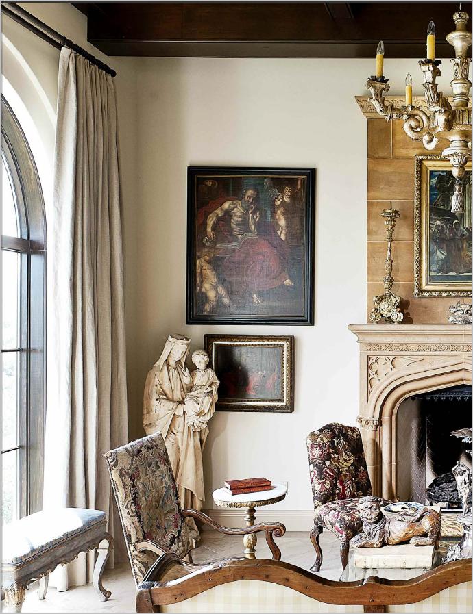 Old World Living Room Design Ideas Room