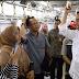 Sambut HUT KAI, Presiden Joko Widodo Naik KRL, Penumpang Pada Kaget