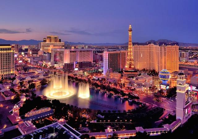 Pontos turísticos em Las Vegas
