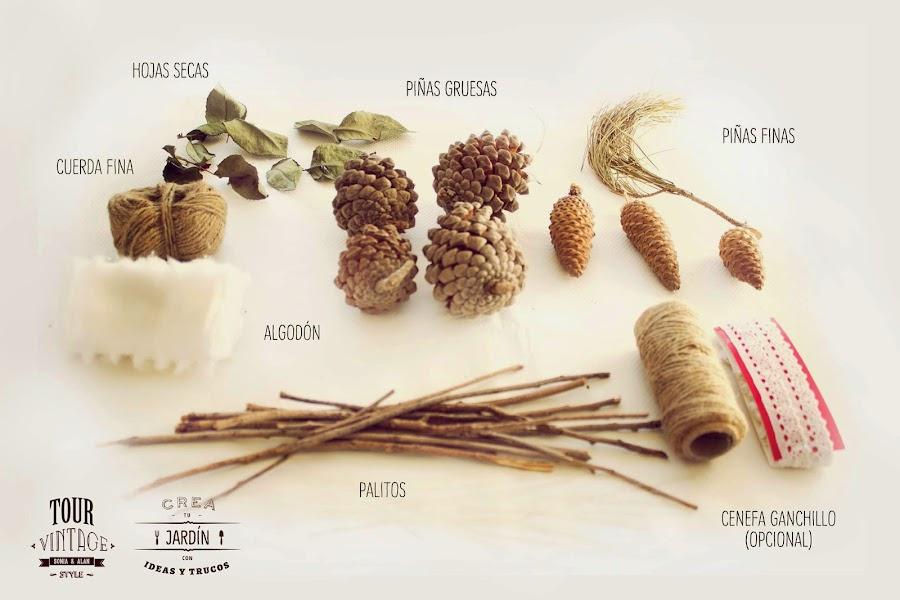 materiales para guirnaldas
