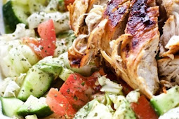 Blackened Chicken and Avocado Salad