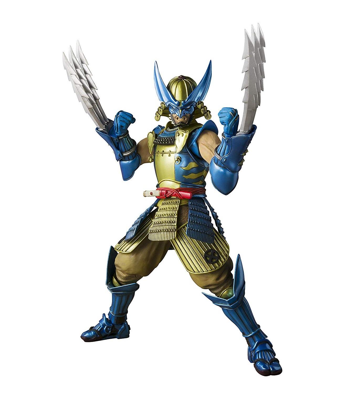 762cc25e1696 Marvel Muhomono Wolverine Meisho Manga Realization Action Figure by Bandai  Tamashii Nations