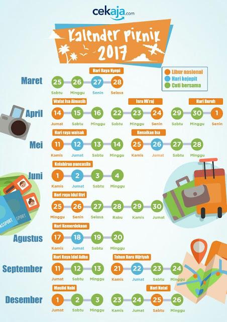 Kalender terbaru 2017