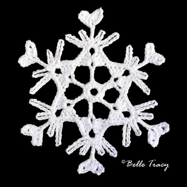 Free Crochet Pattern Snowflake