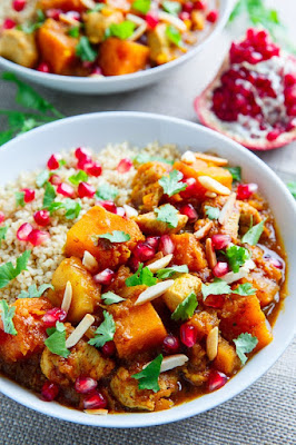 Pumpkin And Chicken Tagine Recipe
