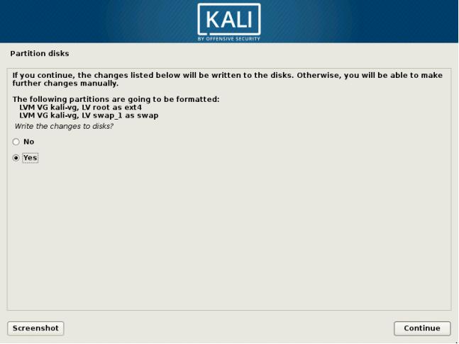 Installing Kali Linux